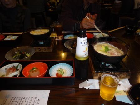 お料理画の忘年会.JPG