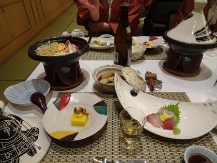 夕食鮎の里.JPG