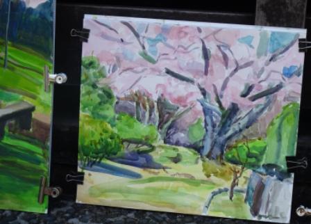 桜2お城と.JPG