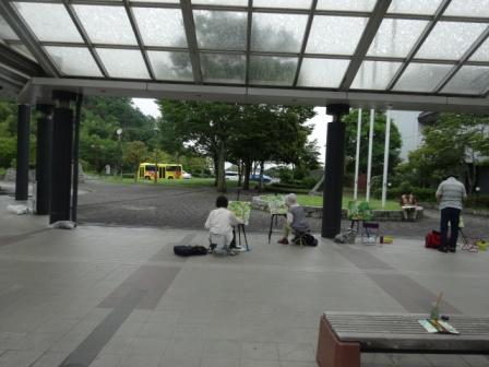 雨の写生会.JPG