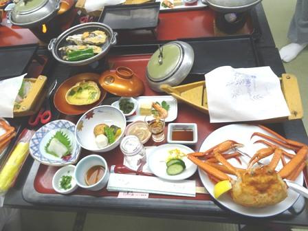 1ホテルの夕飯.JPG